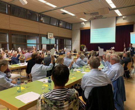 Delegiertenversammlung pro audito 2021 - Abstimmung